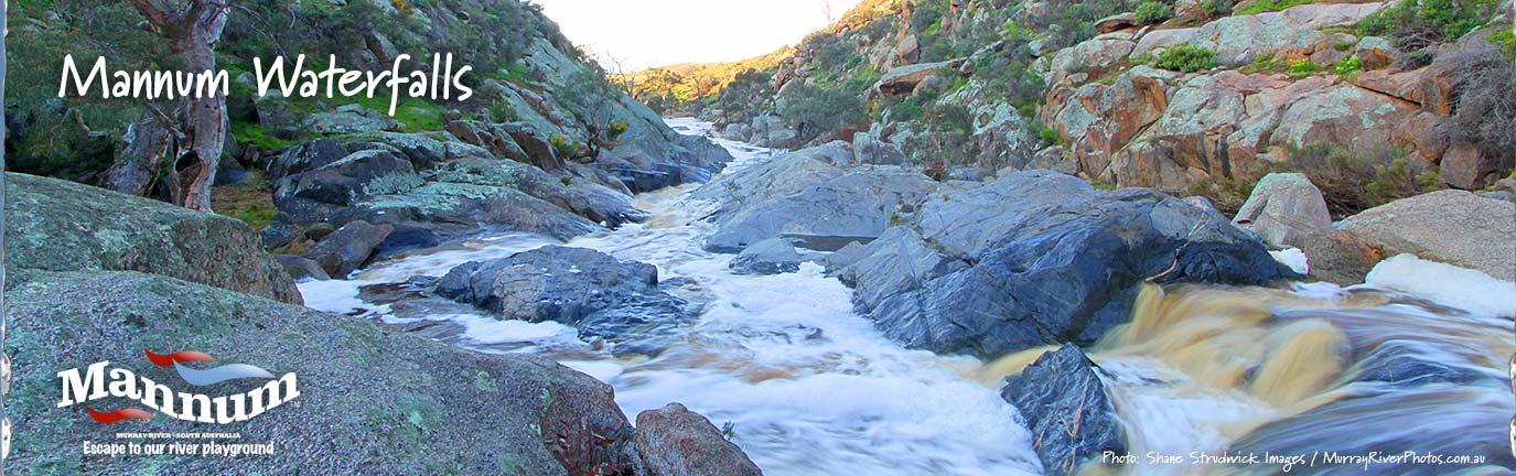 Visit Mannum Waterfalls